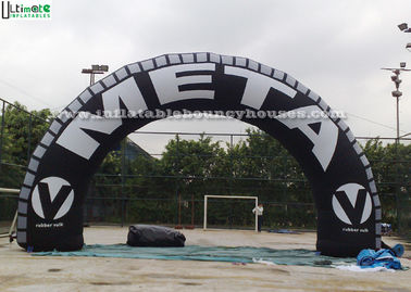 Tyre Advertising Inflatable Arches Made Of 1st Class PVC Tarpaulin