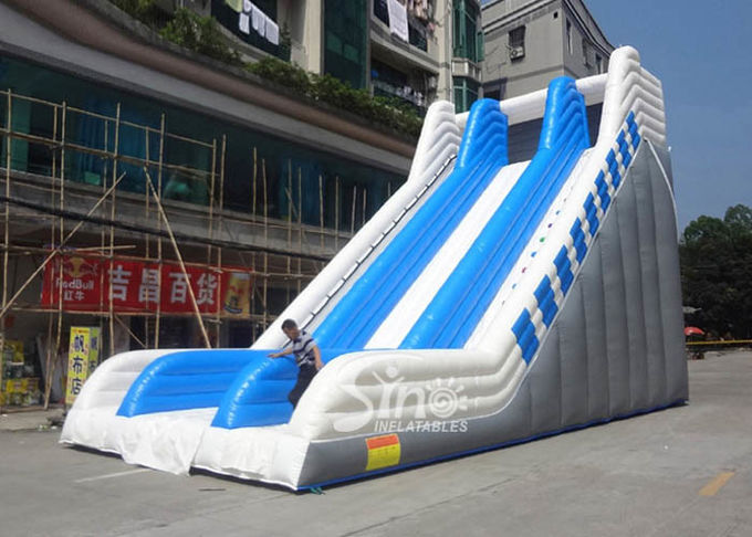 9 meters high commercial adult giant inflatable slide for sale price from Guangzhou factory